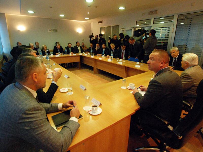 Sastanak lidera opozicije (Foto služba DS)